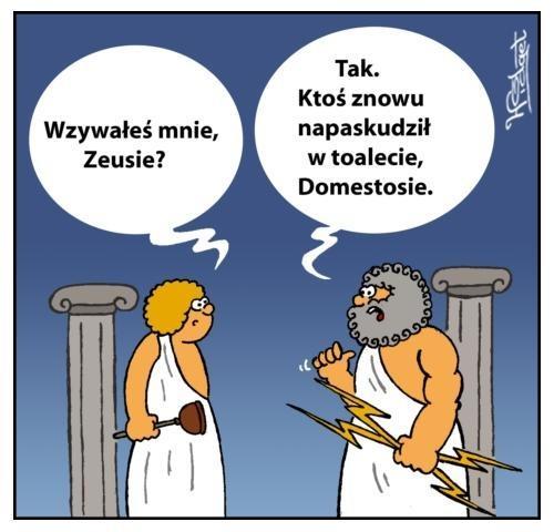 Wzywałeś mnie, Zeusie?