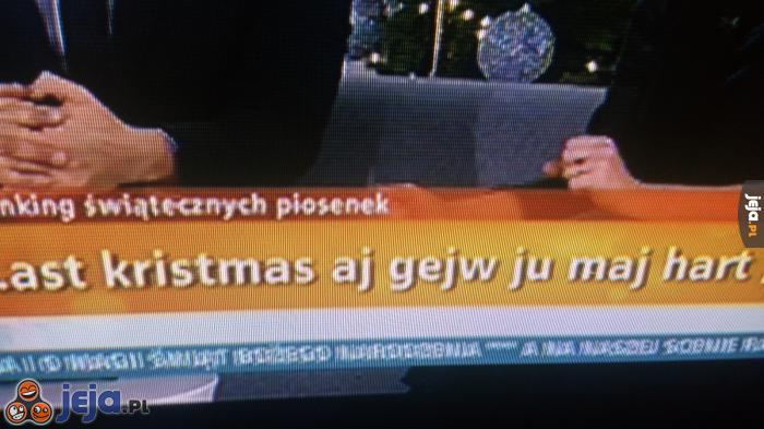 Last kristmas - Angielski w TVN