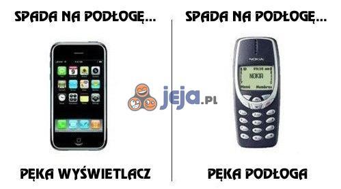 iPhone i Nokia