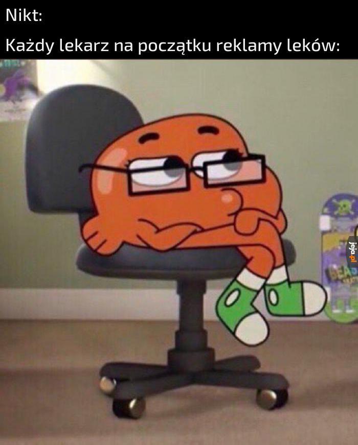 *odgłosy siedzenia na krześle w okularach*