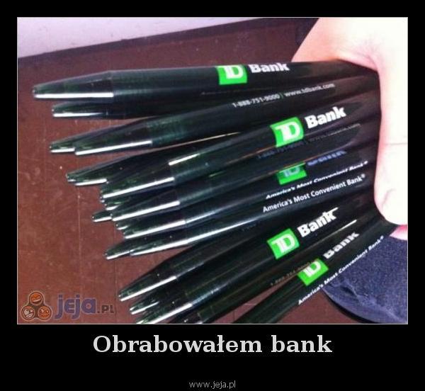 Obrabowałem bank