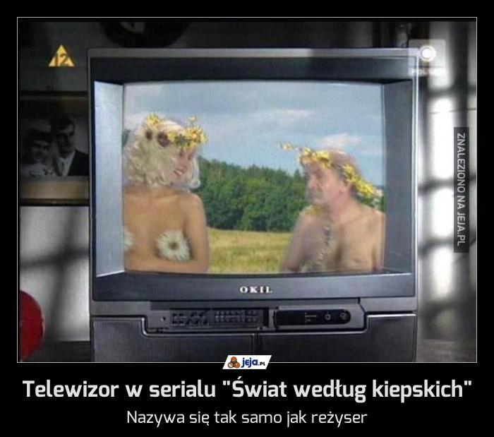"""Telewizor w serialu """"Świat według kiepskich"""""""