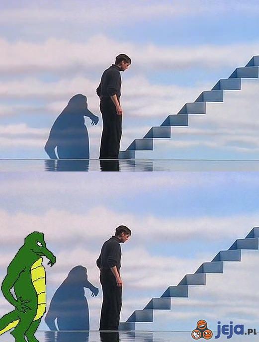 Tajemniczy cień z Truman Show