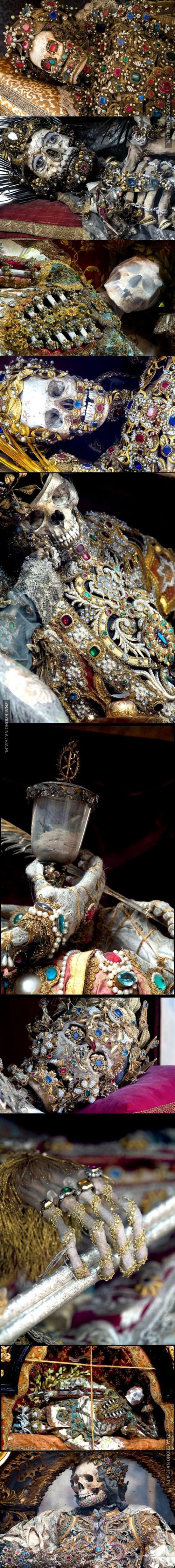 Szkielety odnalezione w rzymskich katakumbach