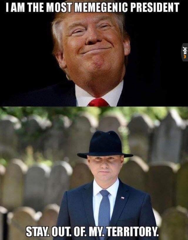 I co, kto jest najbardziej memicznym prezydentem?