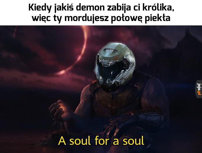Sprawiedliwość według Doom Guy'a