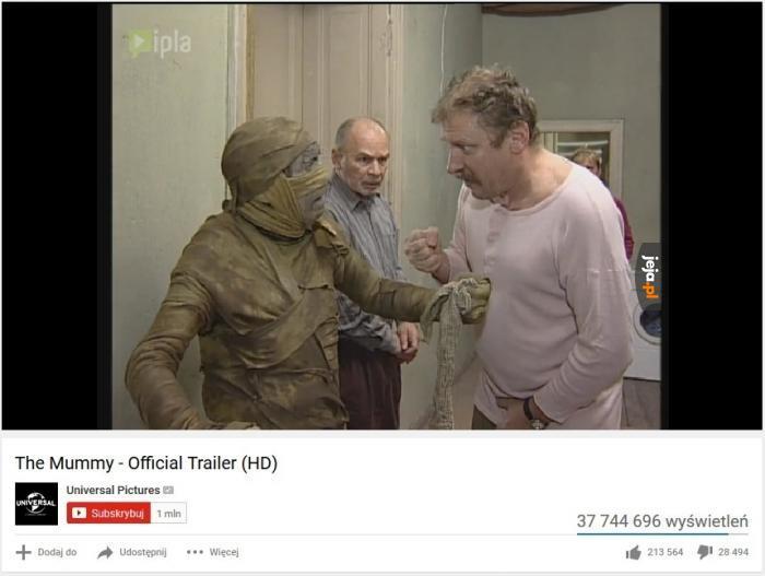 Mumia - oficjalny trailer