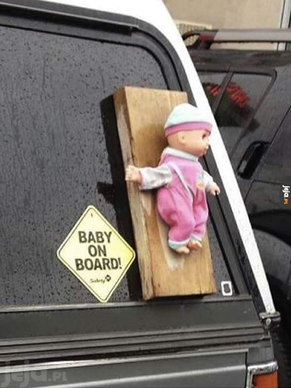 Uwaga, dziecko!