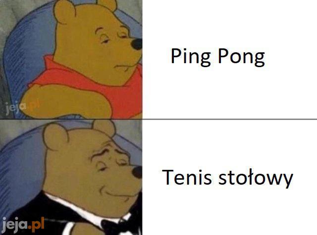 """Zawsze można powiedzieć """"pingiel"""""""