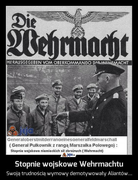 Stopnie wojskowe Wehrmachtu