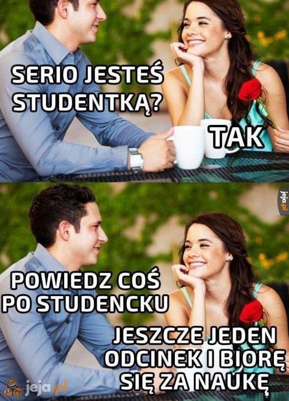 Najprawdziwsza studentka