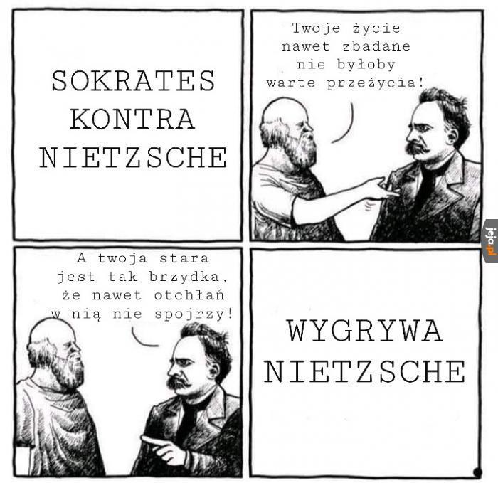 Tak się dissują filozofowie