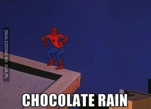 Czekoladowy deszcz