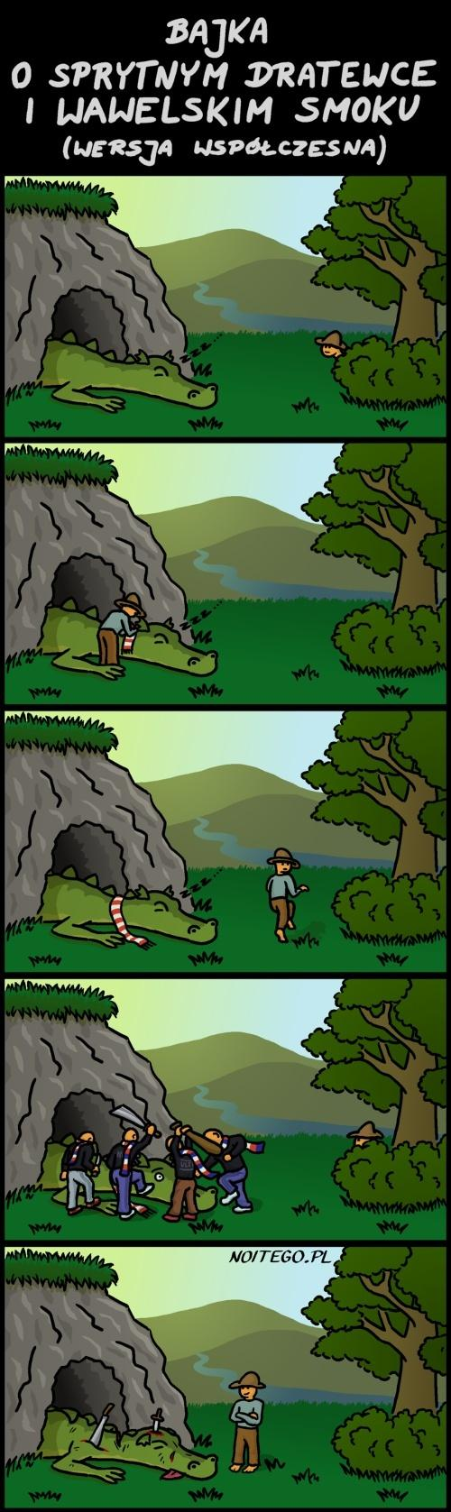 O Dratewce i smoku