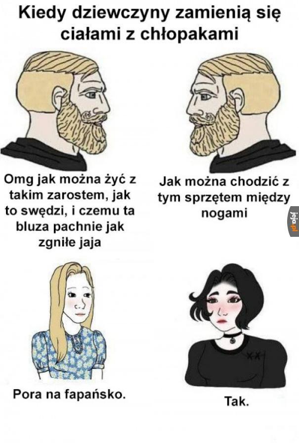 Zamiana płci