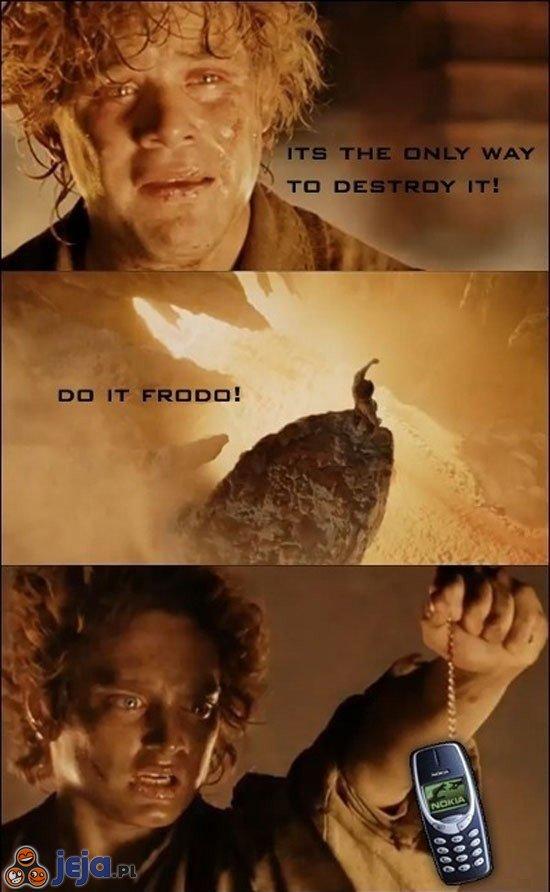 Jest tylko jeden sposób, aby go zniszczyć