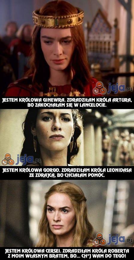 Jedna aktorka - trzy królowe