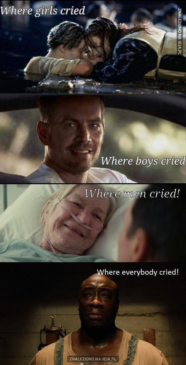 Sceny wyciskające łzy