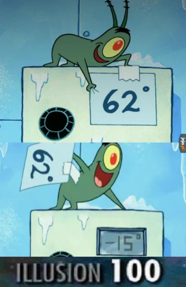 Nie tykać termostatu!