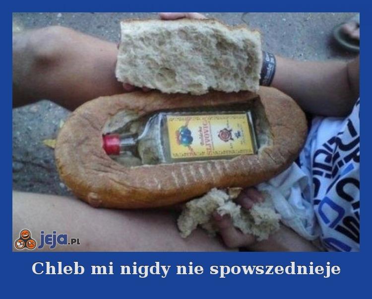 Chleb mi nigdy nie spowszednieje