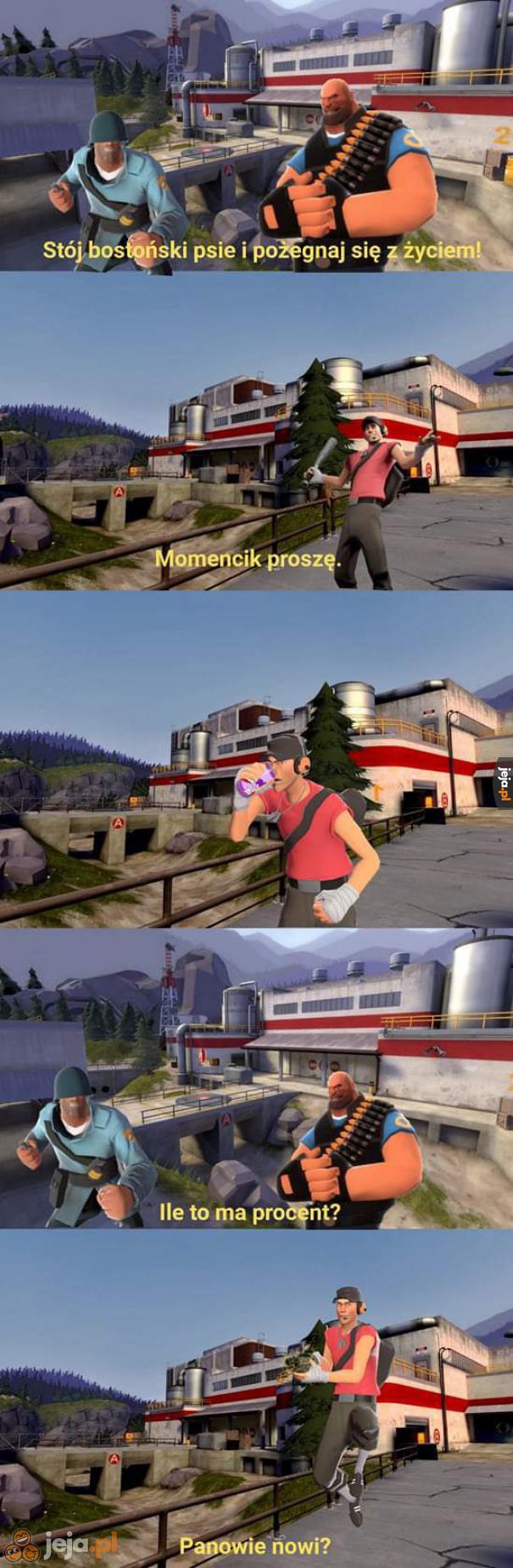 Asterix i Obelix + Team Fortress 2