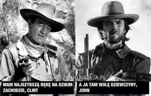 Clint vs John