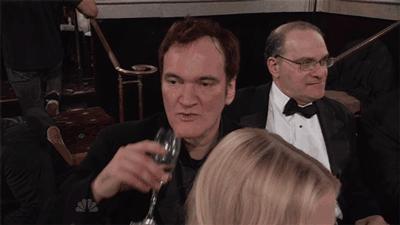 Nie rozśmieszaj Tarantino, kiedy pije