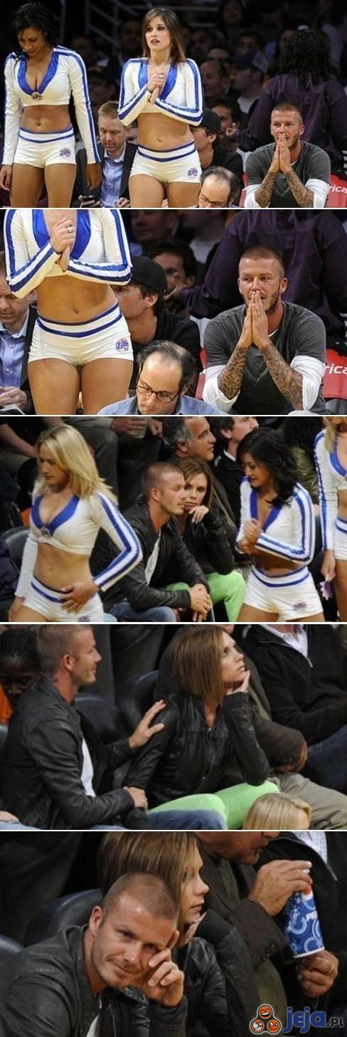 Beckham przyłapany