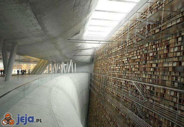Kopalnia wiedzy. Biblioteka publiczna w Sztokholmie