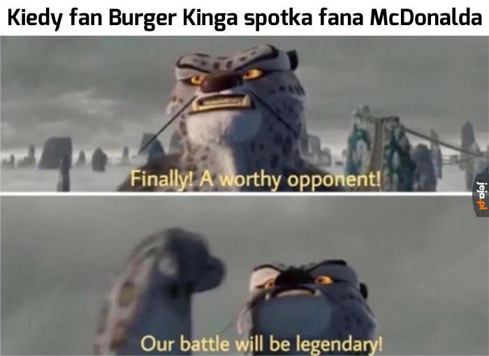 To będzie legendarna bitwa!