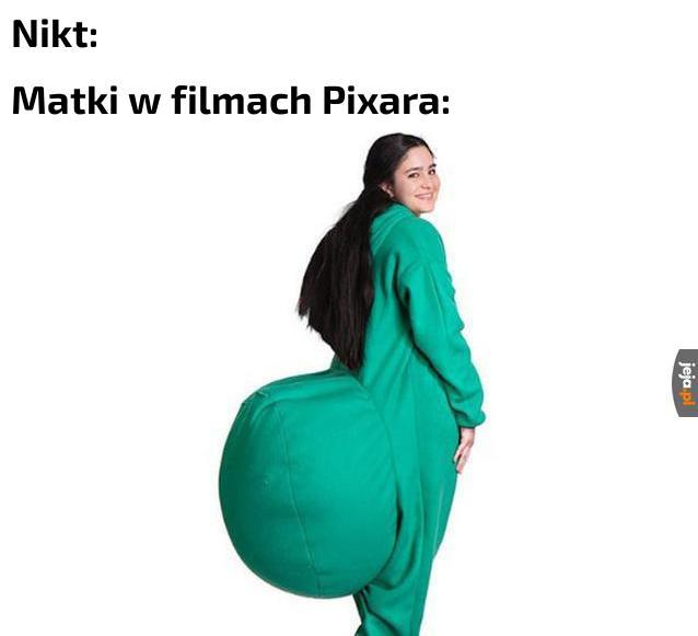 Twórcy chyba lubią zielone dresy