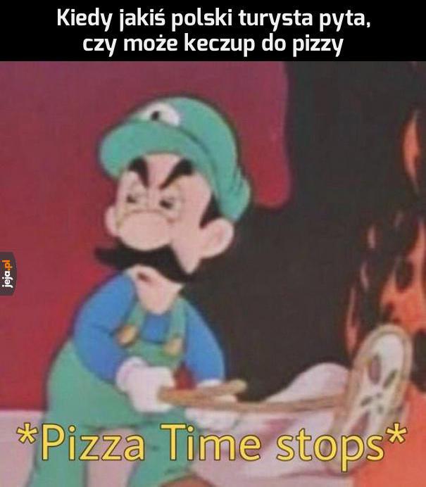 Nie będzie żadnej pizzy!