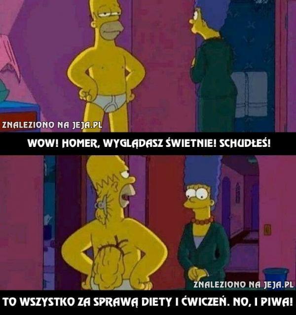 """Homer w """"świetnej formie""""..."""