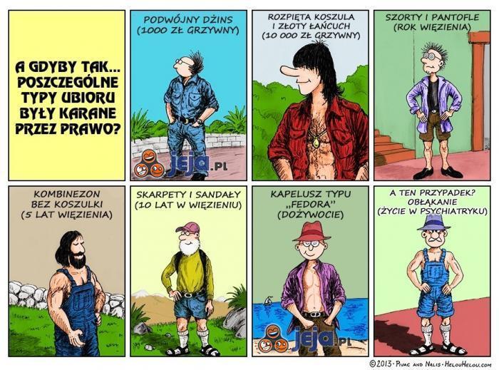 Modowe przestępstwa
