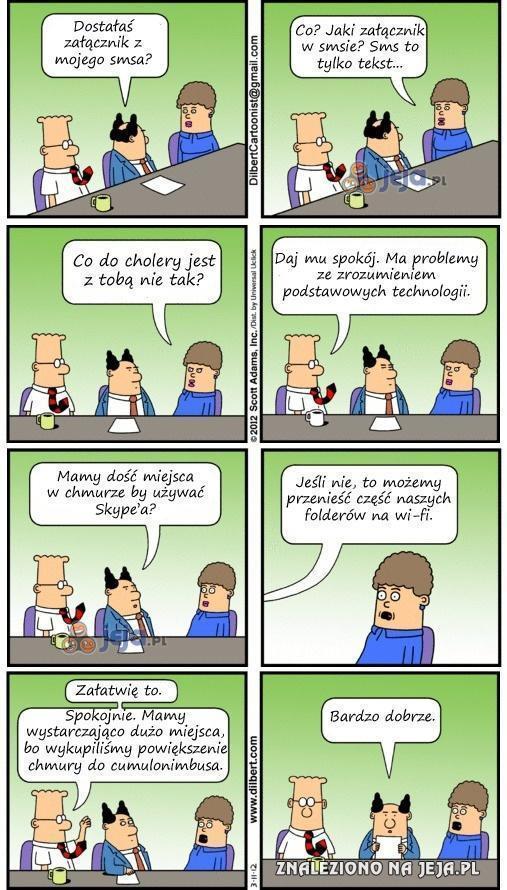Podstawowa znajomość technologii jest bardzo trudna