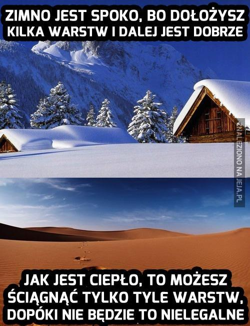 Zima czy lato?
