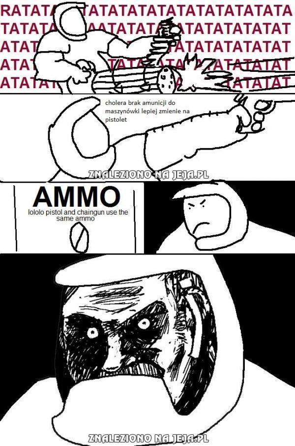 Brak amunicji...