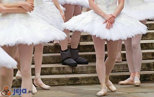 Nowoczesne baletki