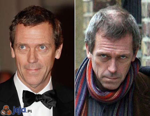Dr House vs Hugh Laurie