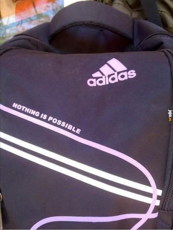 Adidas wypuścił serię ubrań dla realistów