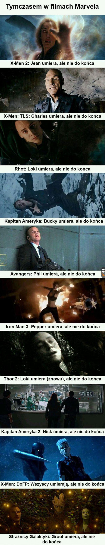 Marvel be like