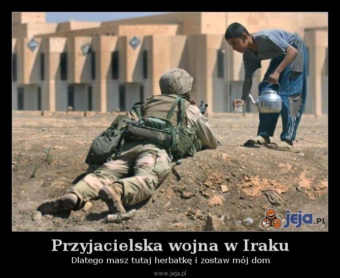 Przyjacielska wojna w Iraku