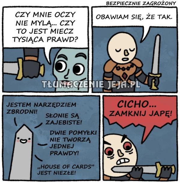 Miecz tysiąca prawd
