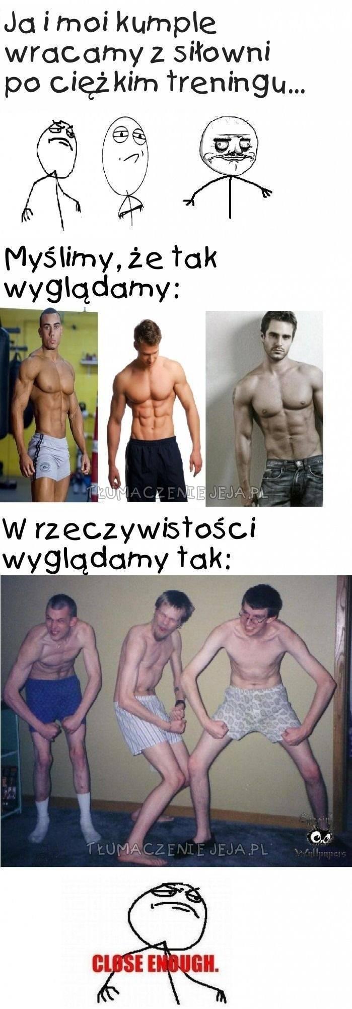 Po treningu na siłce