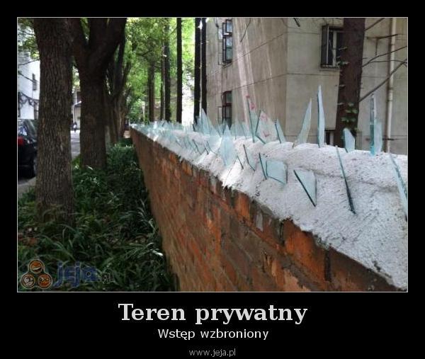 Teren prywatny