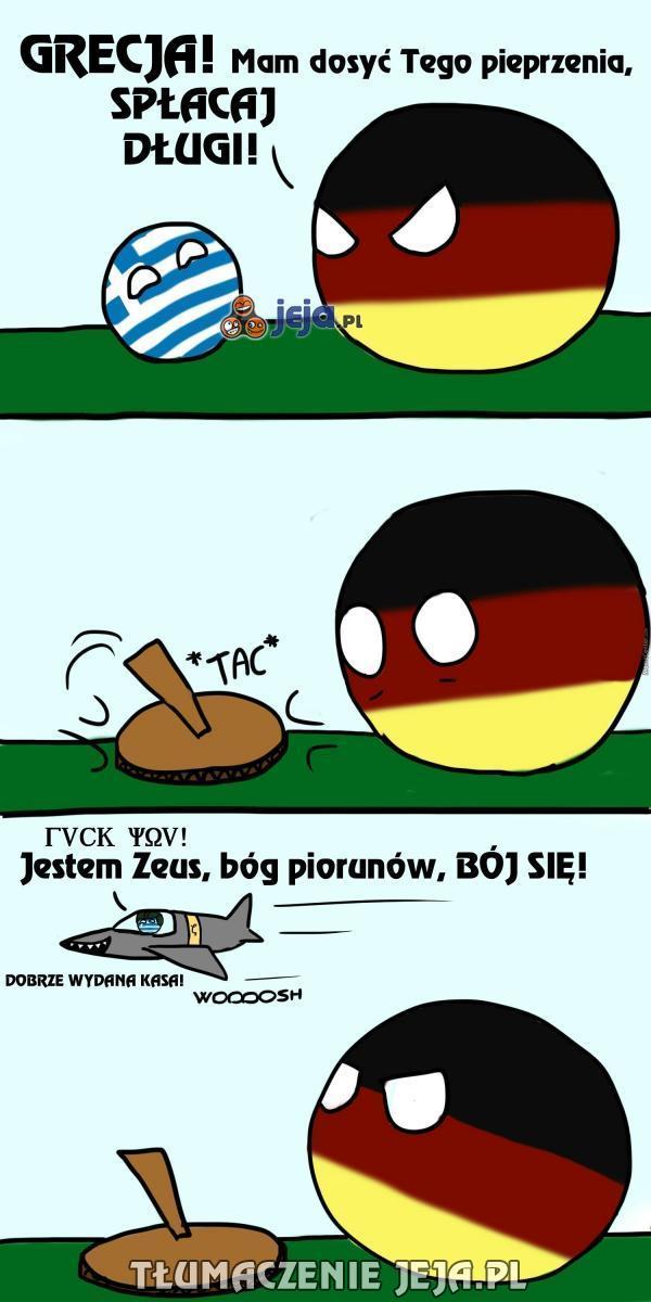 Grecjo, robisz się nudna