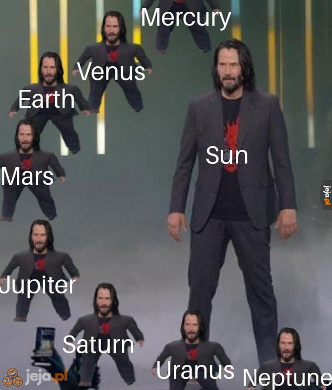 Pluton się nie zmieścił