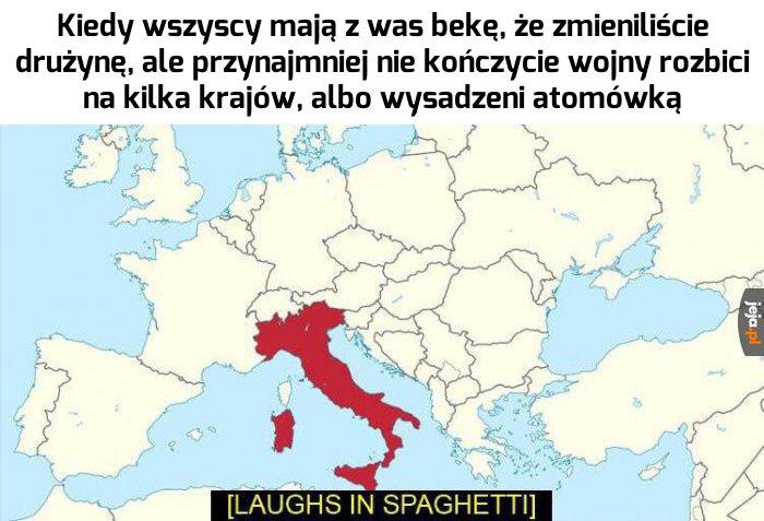 Odpowiedź Włochów