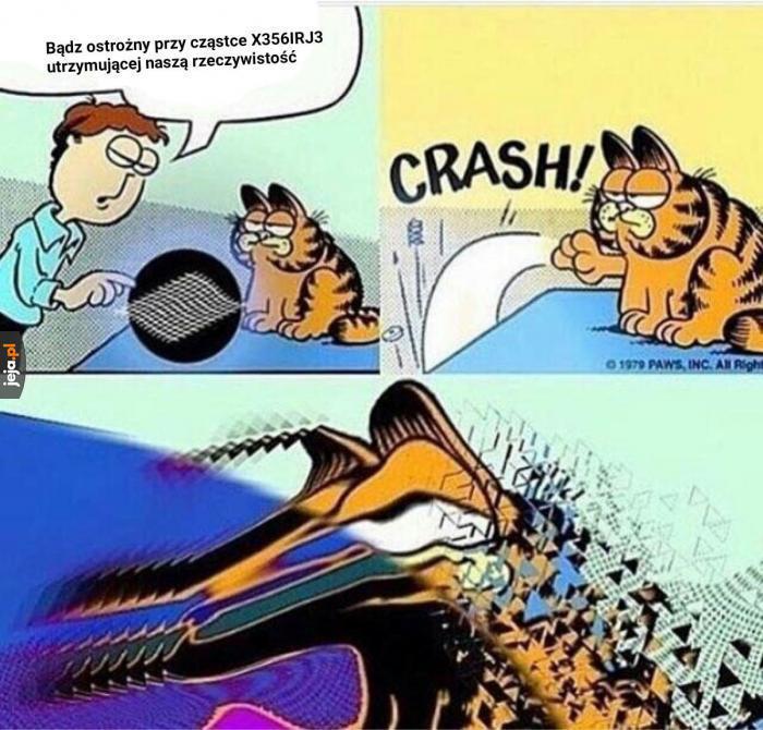 Cały Garfield...