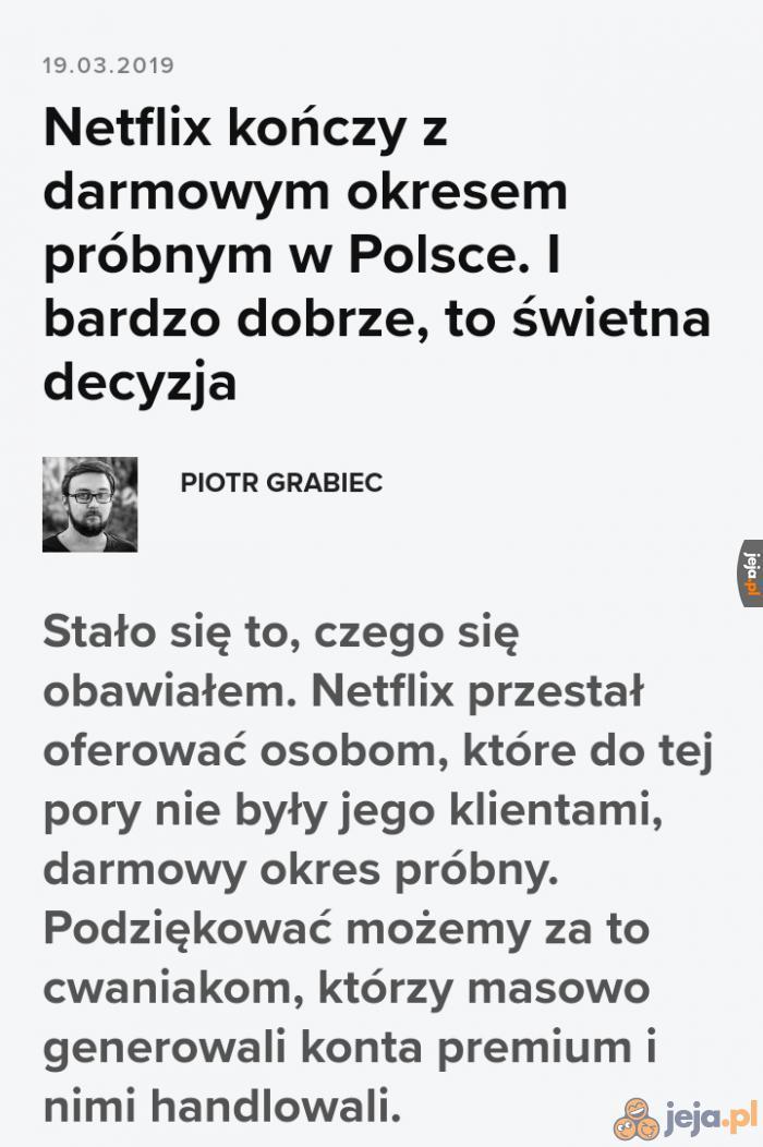 Netflix walczy z Januszostwem
